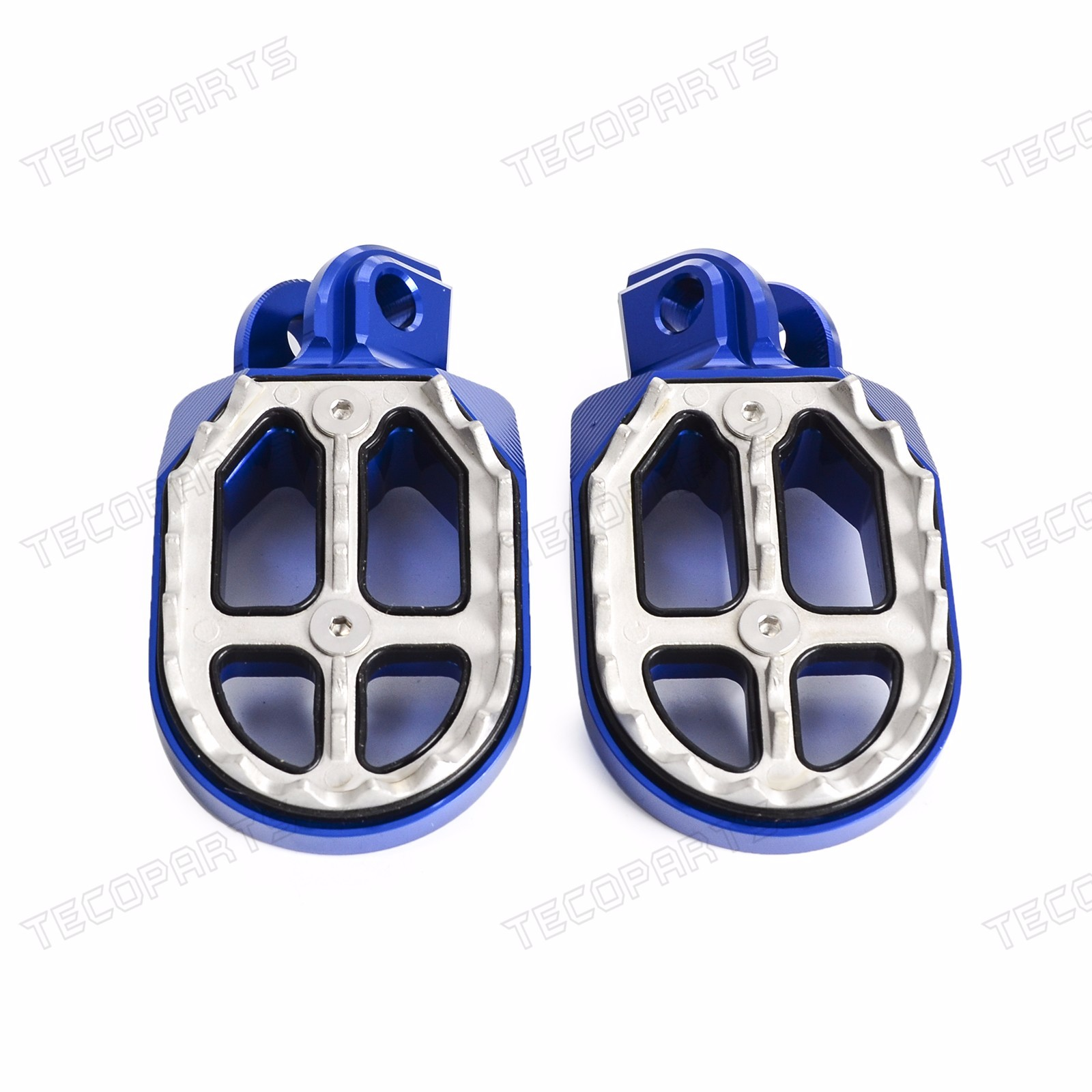 MX CNC Wide Fat Foot Pegs Footrests For HUSQVARNA TE/FE150-501 TC250 ...