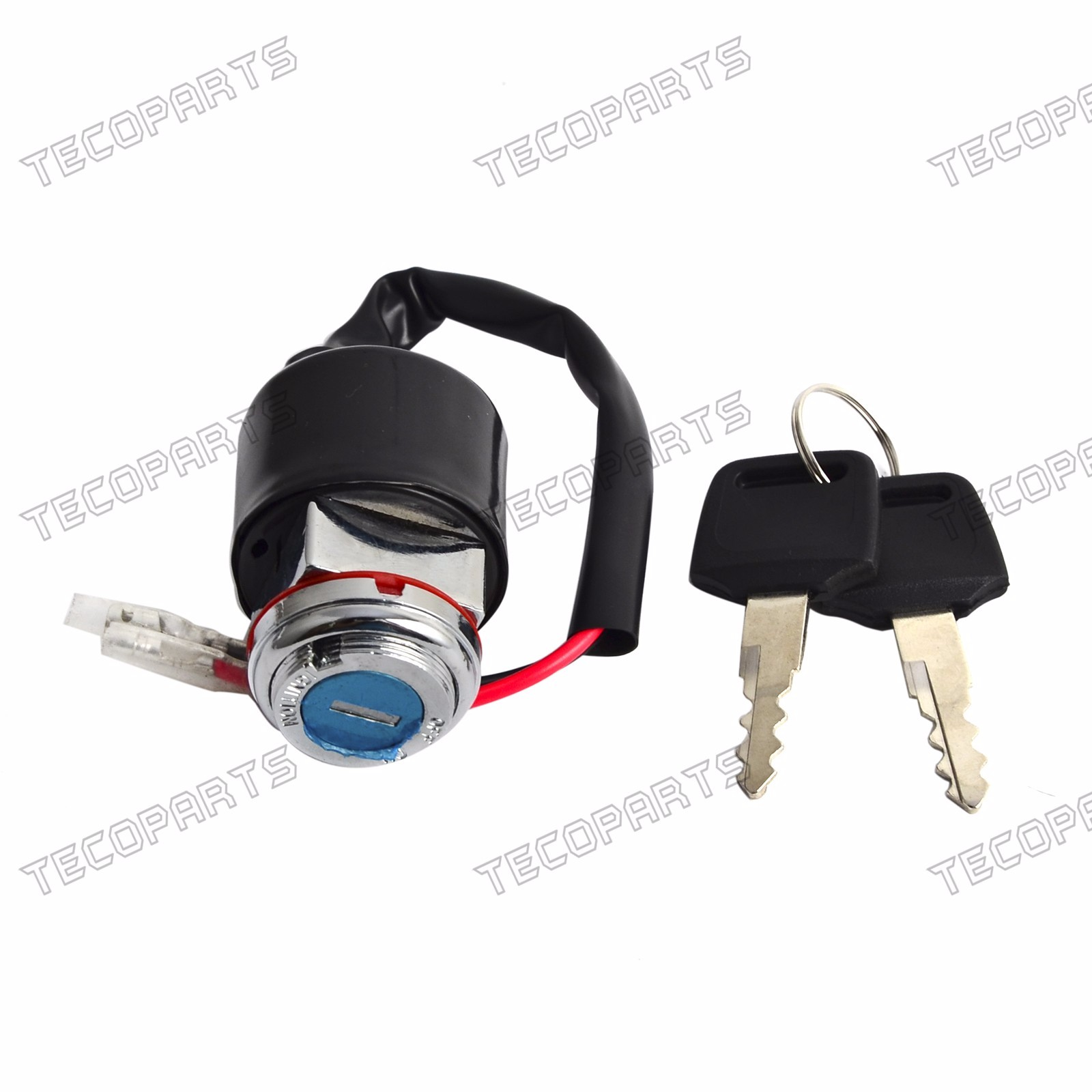 2-Wire Ignition Switch + 2 Keys for Honda CL70 CL90 S90 CB100 CB125 ...