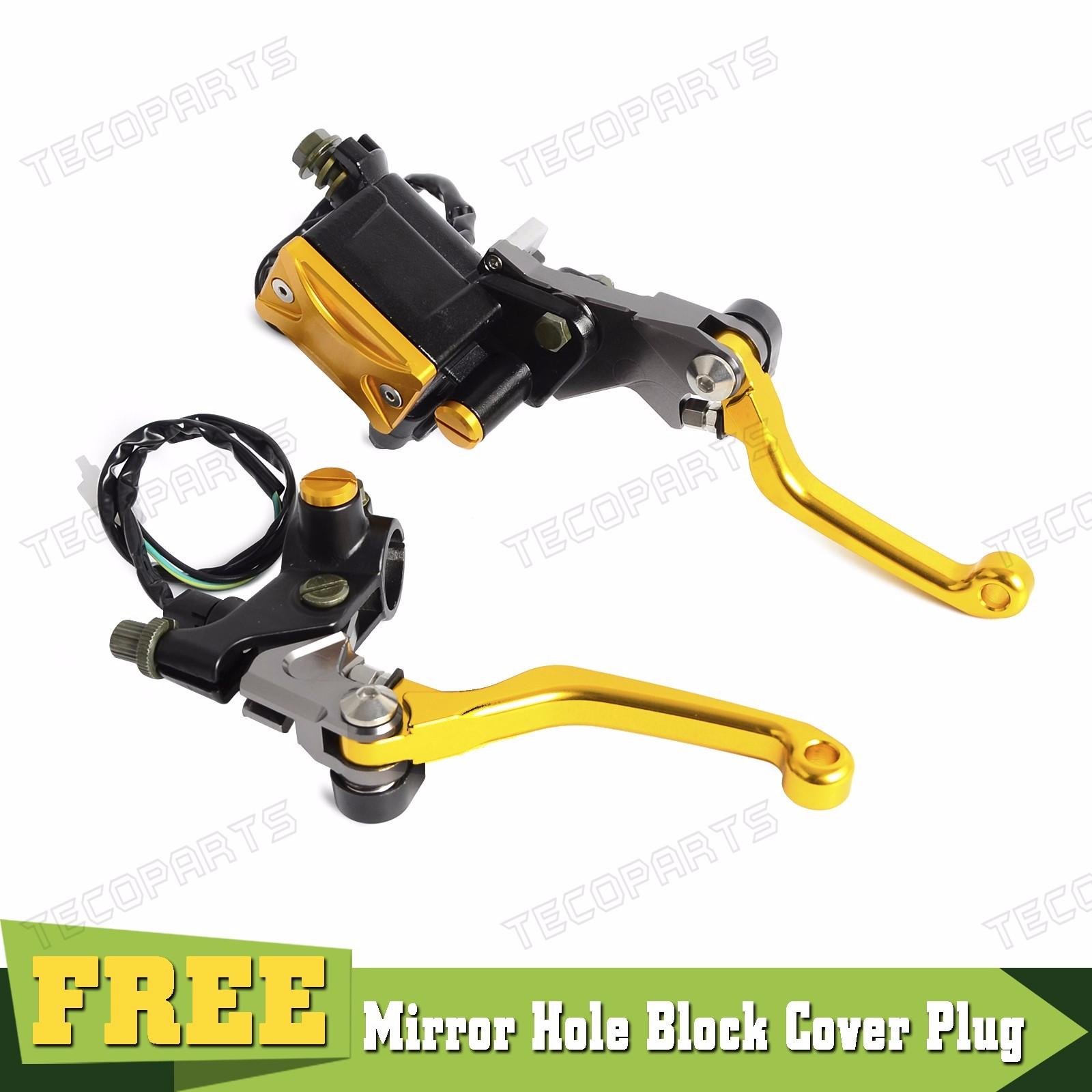 light switch Brake Master Cylinder /& Cable Clutch Perch for Suzuki RM RMZ LTZ