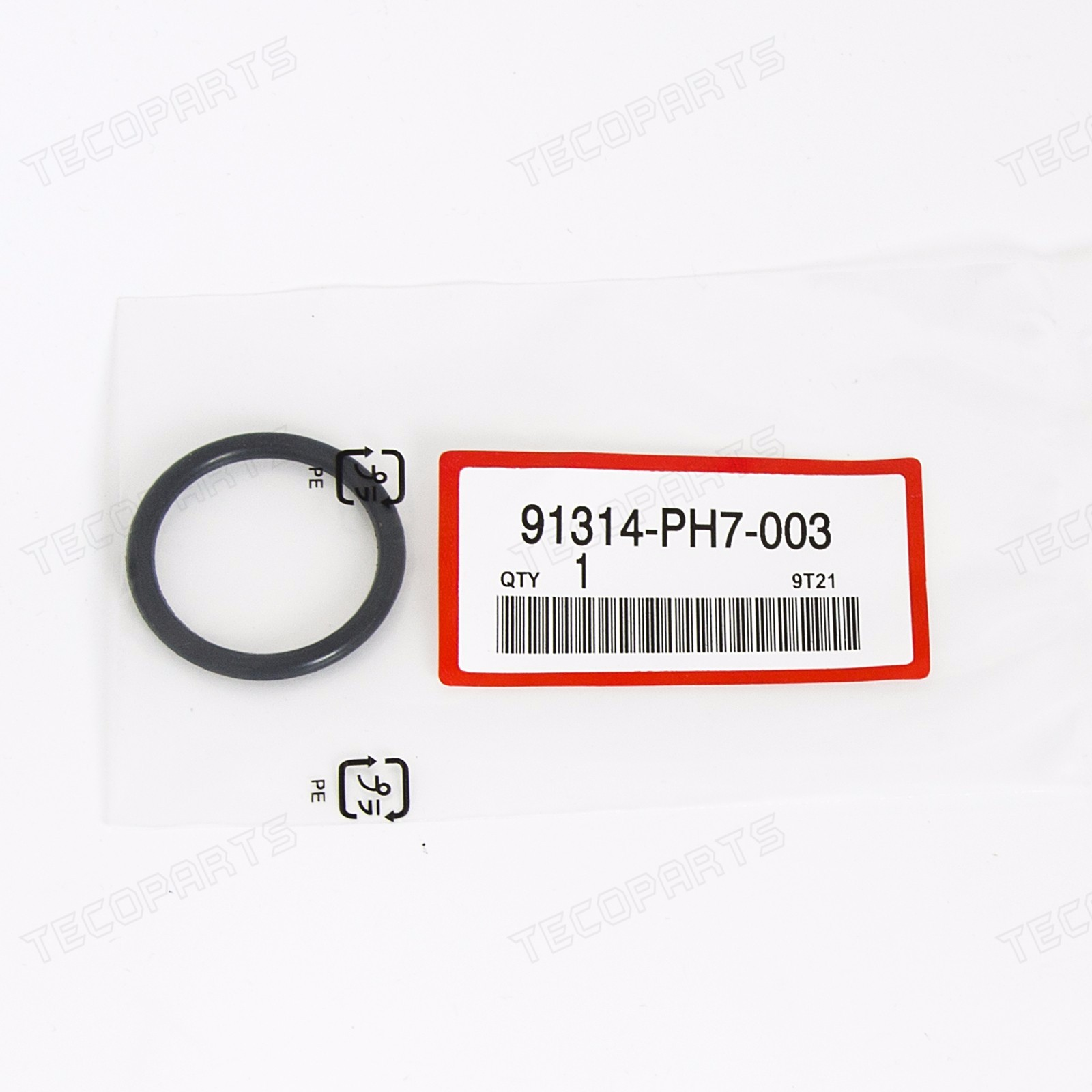 Black Connecting Pipe O-Ring for Honda Insight//Odyssey//Ridgeline 10-14 CRZ 11-14