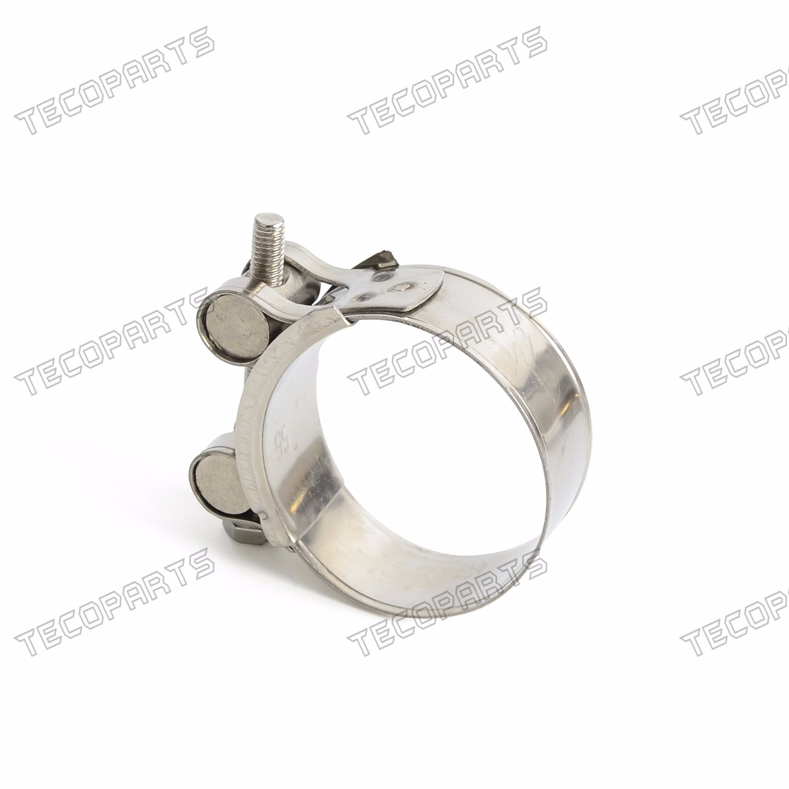 Universal Motorcycle Exhaust Banjo Clamp Clip Kit for 31mm-34mm Slip-on New