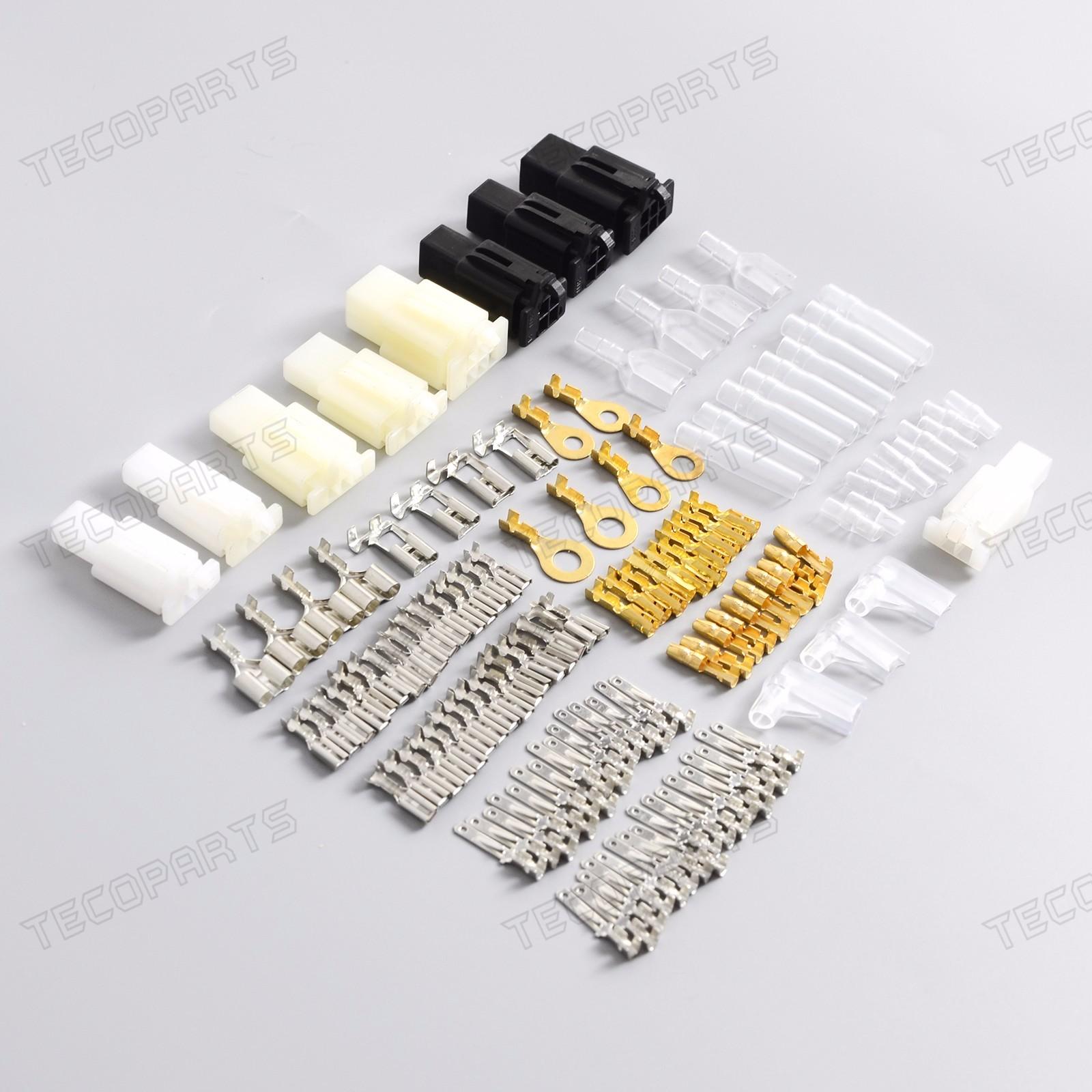 te pr006_(2) motorcycle new connector wiring loom automotive harness auto automotive wiring harness repair kits at n-0.co