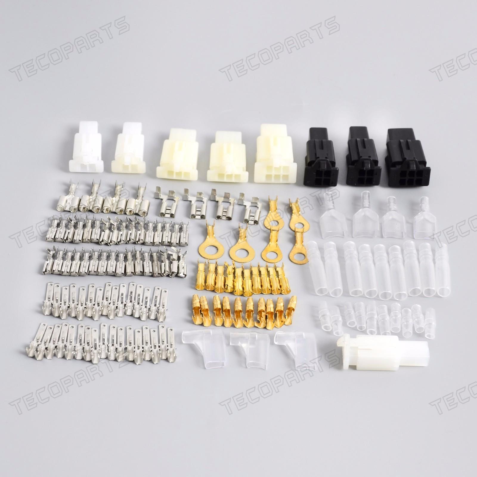 te pr006_(3) motorcycle new connector wiring loom automotive harness auto automotive wiring harness repair kits at n-0.co