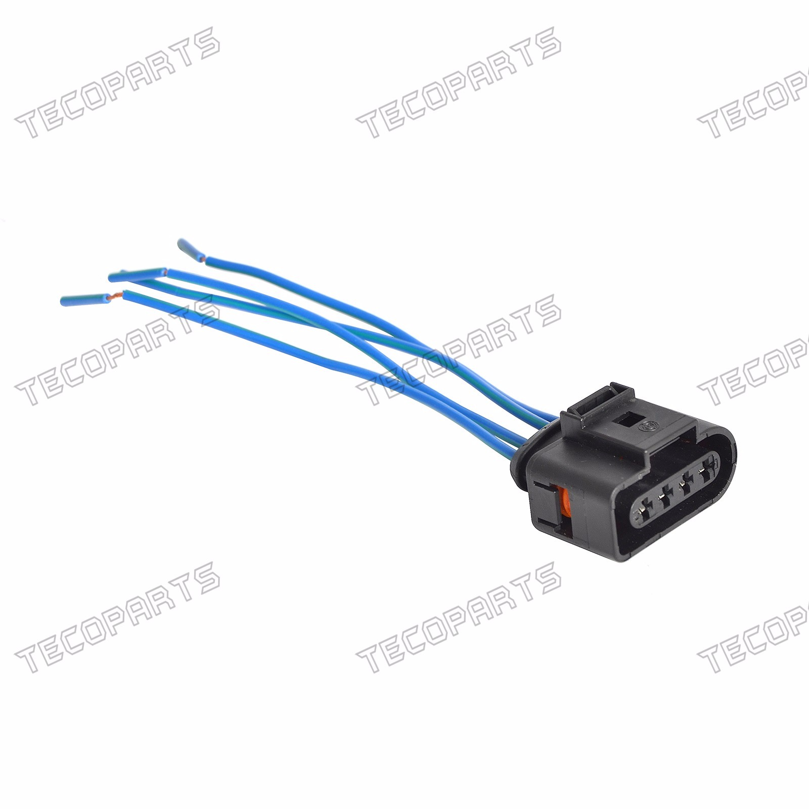 te pr024_(2) new set 4 ignition coil wiring harness connector repair kit for audi a4 1.8t ignition coil wiring harness at edmiracle.co