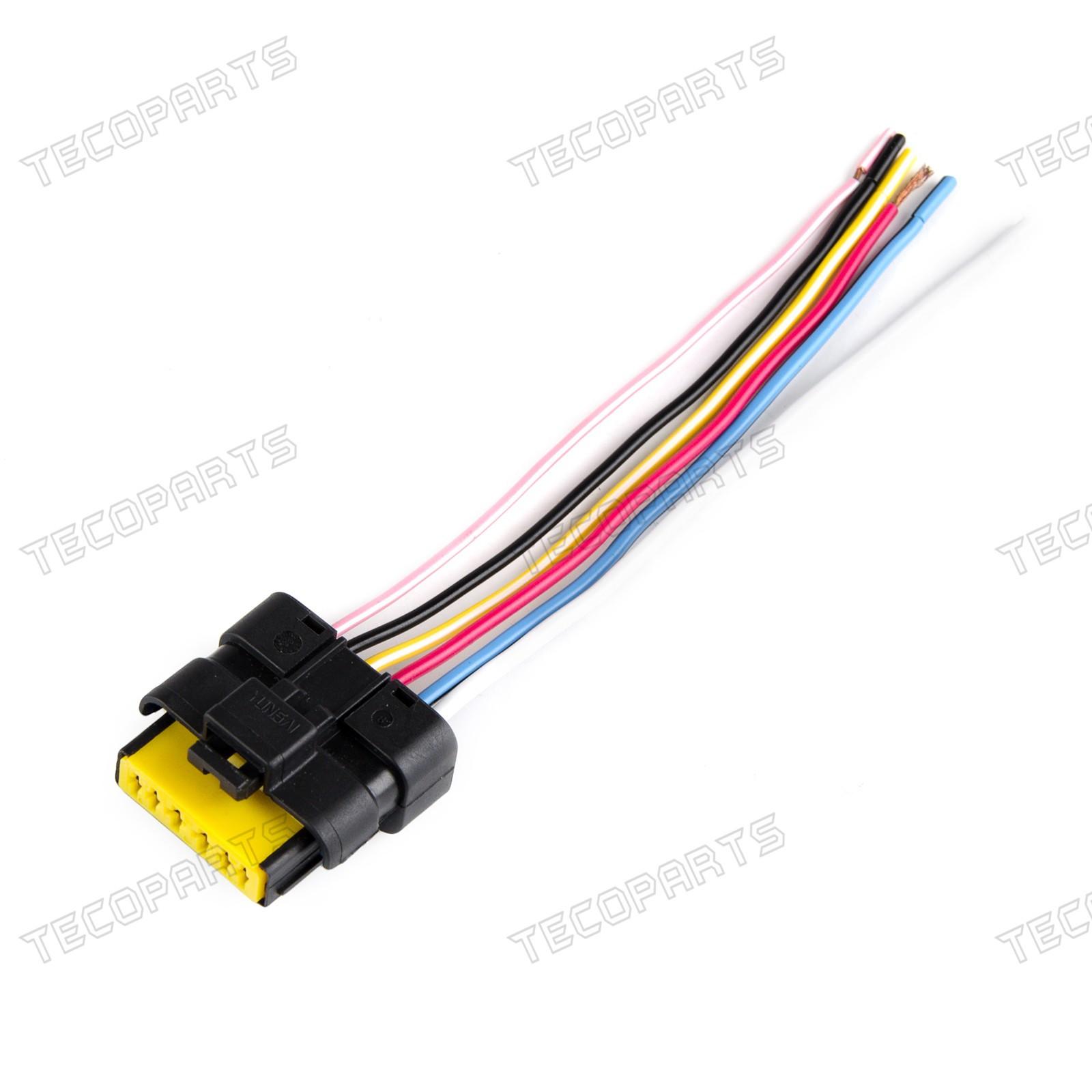 Window Module Wiring Plug Harness Regulator 6pin For Renault  Megane,Clio,Laguna