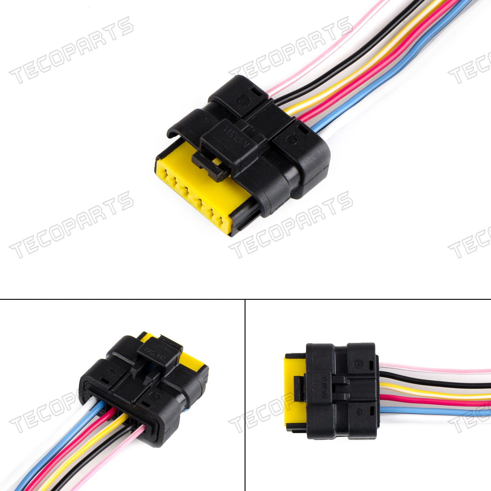 Renault Megane Scenic 6 Pin Window Module Motor Regulator Plug Kit ...