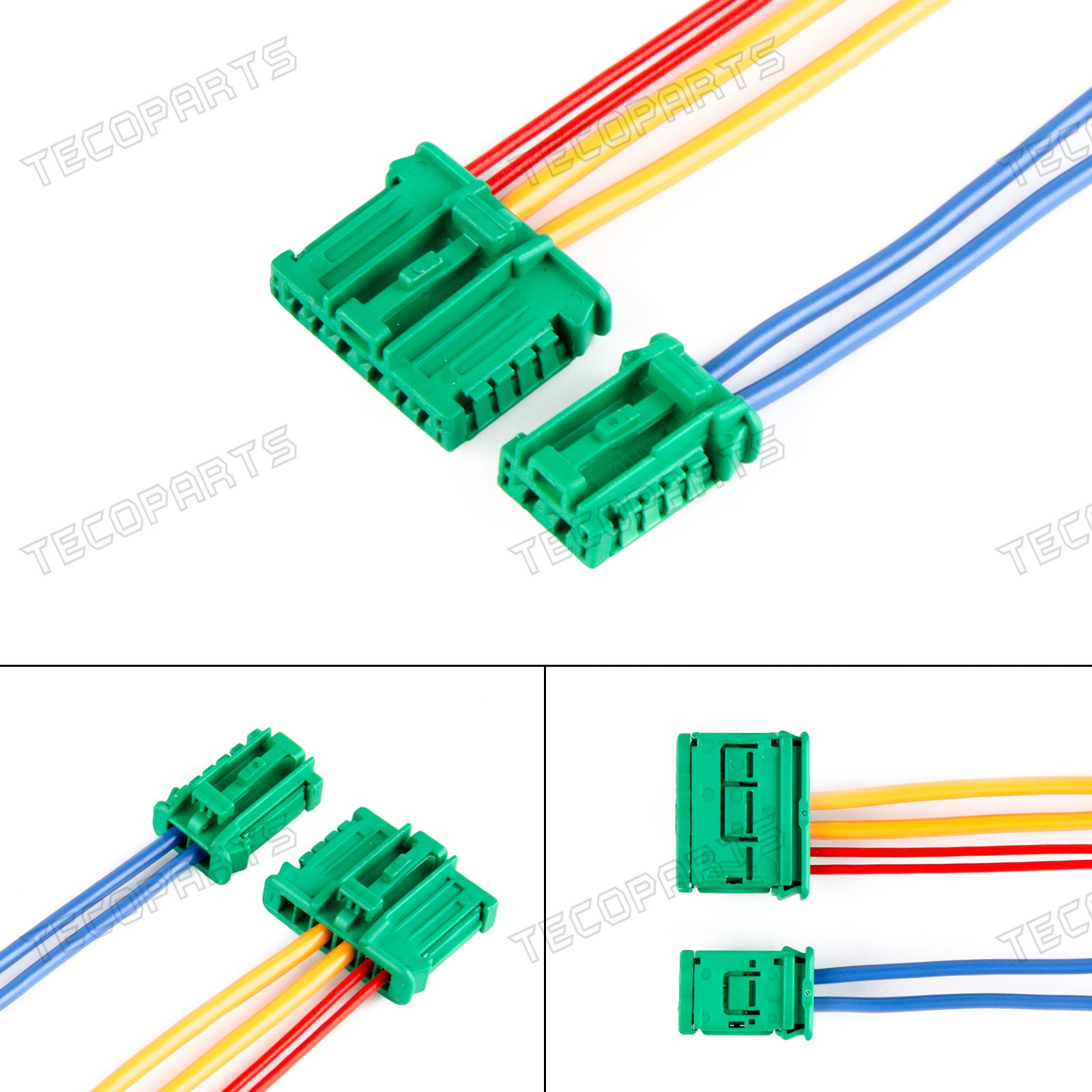 Heater Blower Resistor Plugs Repair Wiring Harness For Peugeot Citroen  Renault