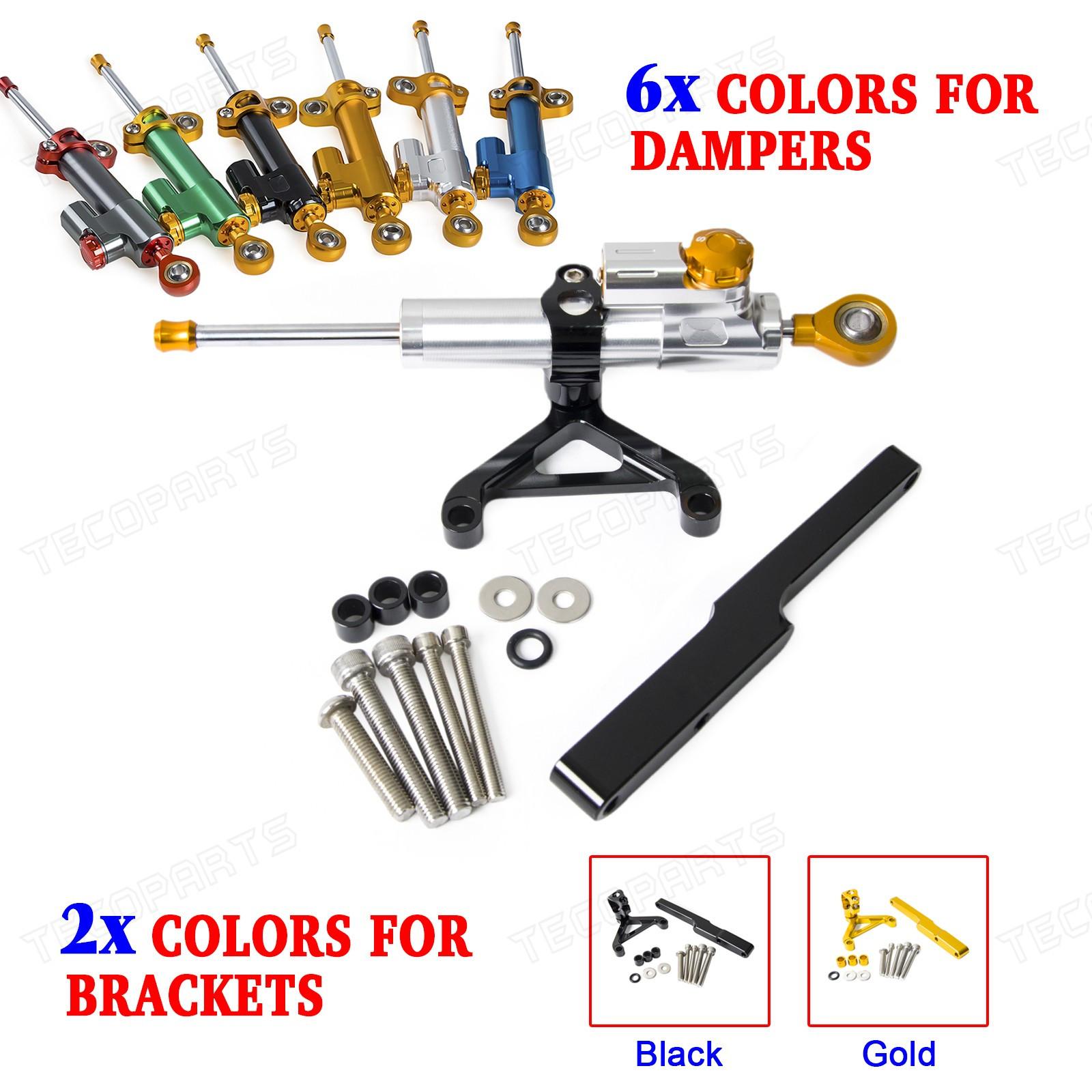 CNC Steering Damper Stabilizer Linear Bracket kits for HONDA CB1000R 2008-2016