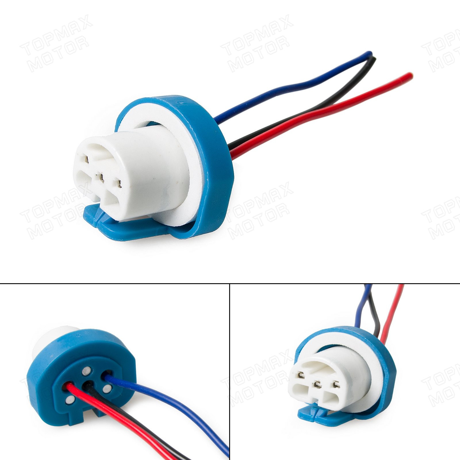 Automotive Headlight Connector Plug 9004 Hb1 9007 Hb5 Lamp Bulb Wire Diagram Connections Socket Gm Ford