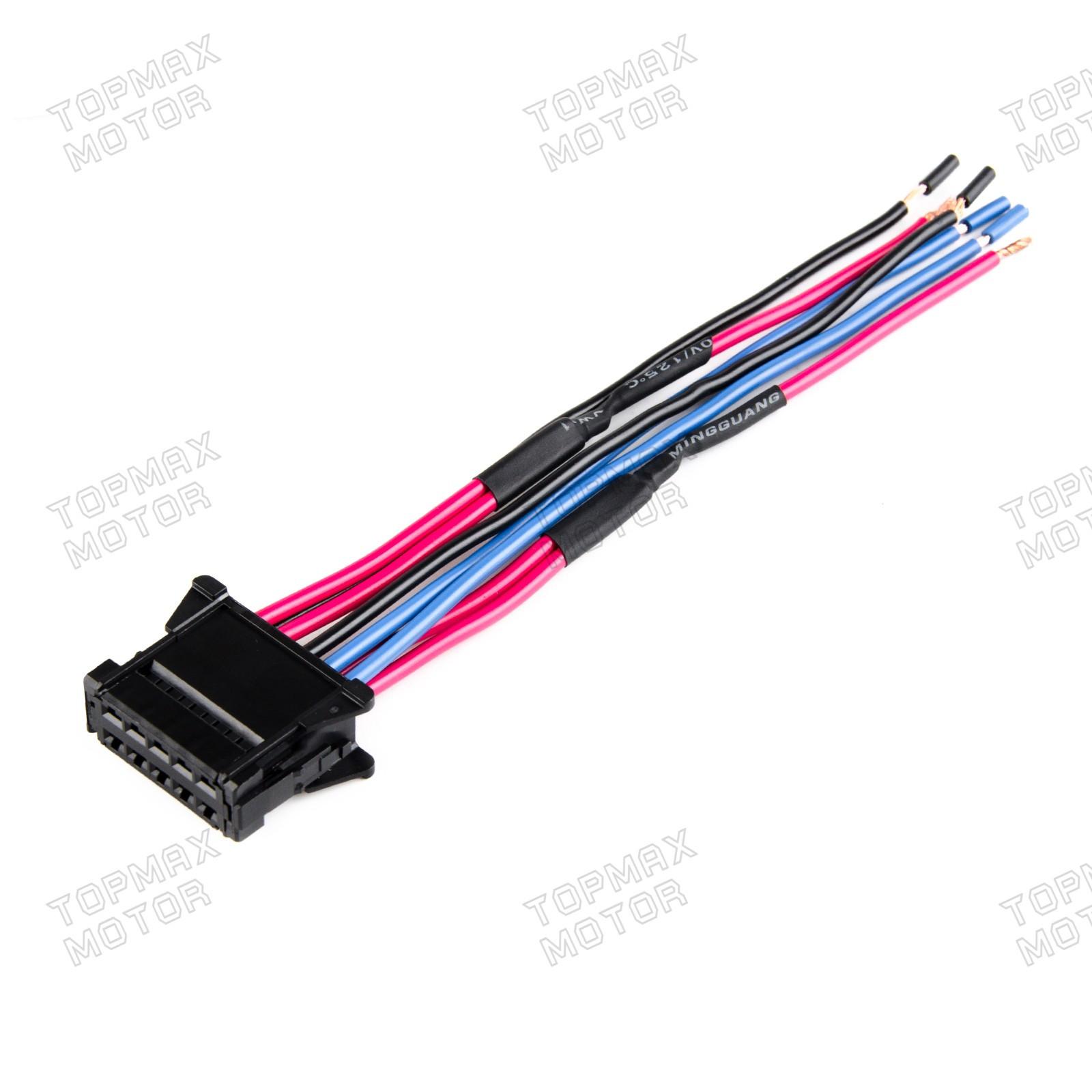 For Renault Heater Blower Fan Resistor Wiring Loom Harness Repair kit  8200729298