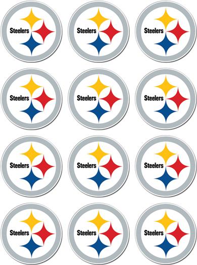 Sheet Of 12 Pittsburgh Steelers Nfl Decals Sticker Ebay