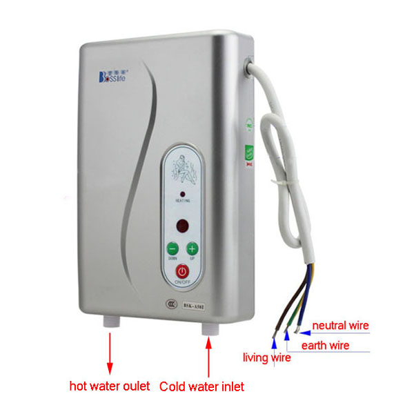 Instant Hot Water Shower : Electric hot water heater shower panel system instant