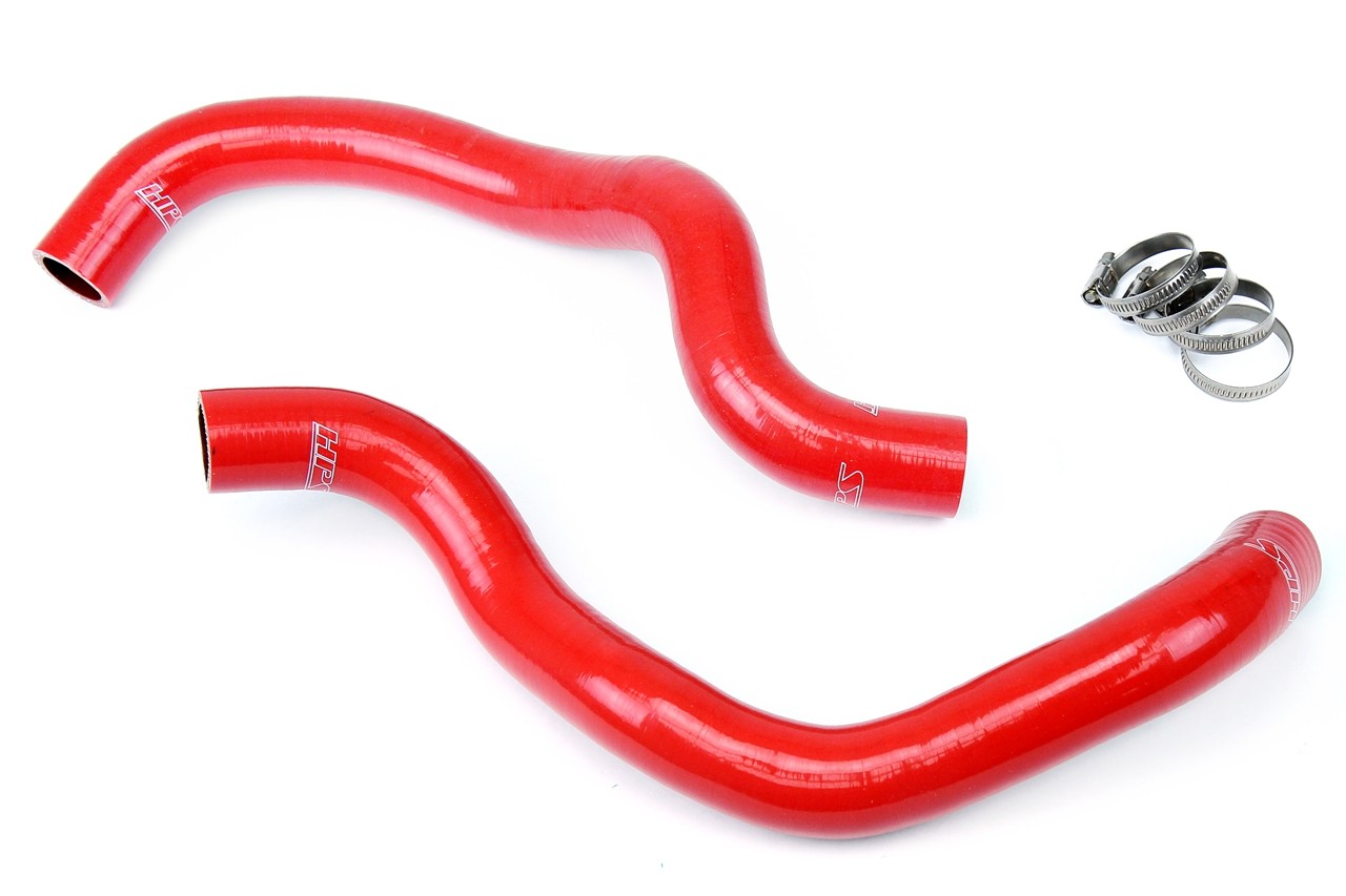 HPS Red 3-Ply Silicone Radiator Hose for Acura 90-93 Integra LS RS GS GS-R