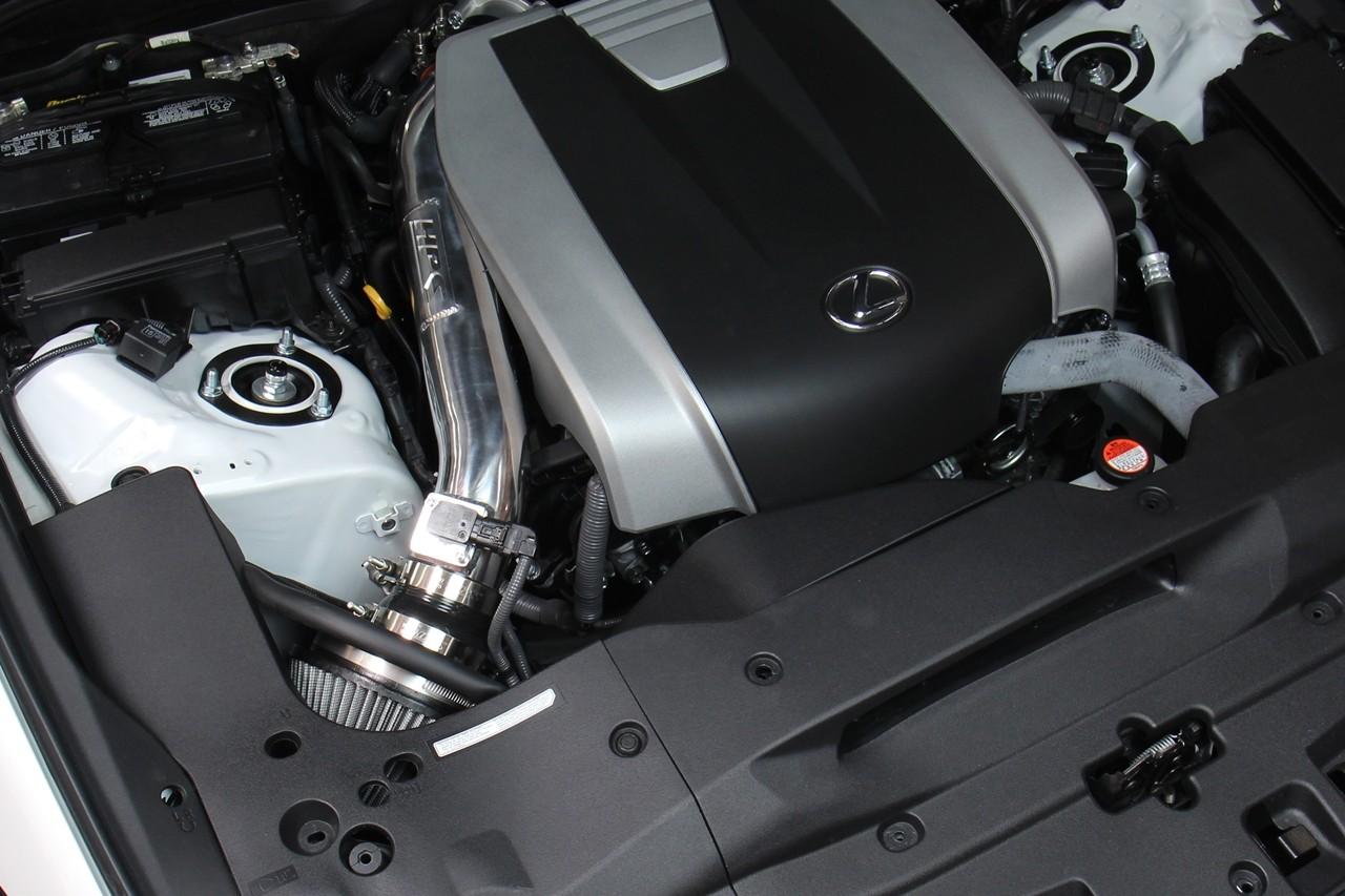 HPS Shortram Air Intake Pipe Kit for Lexus 13-17 GS350 3.5L V6 F-Sport BLACK 14