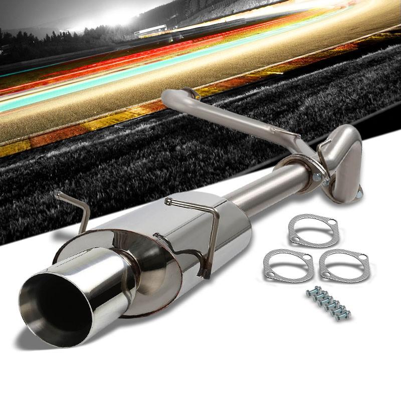 "Fit 05-10 Chevy Cobalt//Pontiac G5 Gt 2.2L 4/"" Oval Tip Racing Catback Exhaust"
