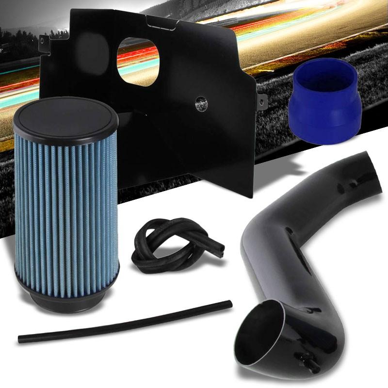 BLACK COLD INDUCTION AIR INTAKE+DRY FILTER FOR 03-08 RAM 1500 2500 3500 5.7L V8