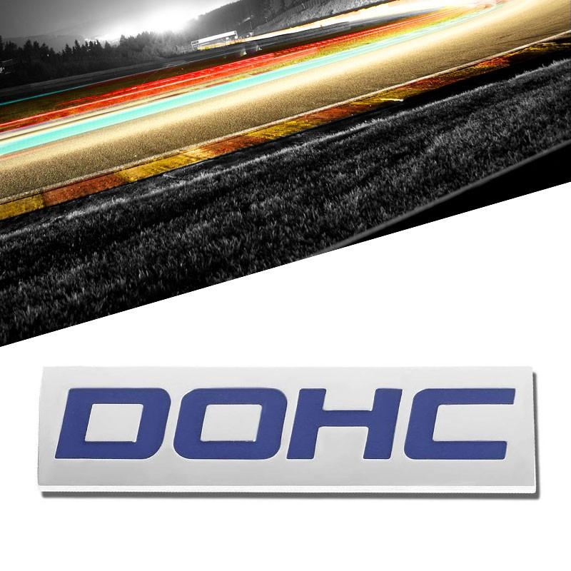 Blue//Chrome Boosted Logo Plate Rear Trunk Car Engine Metal Badge Decal Emblem
