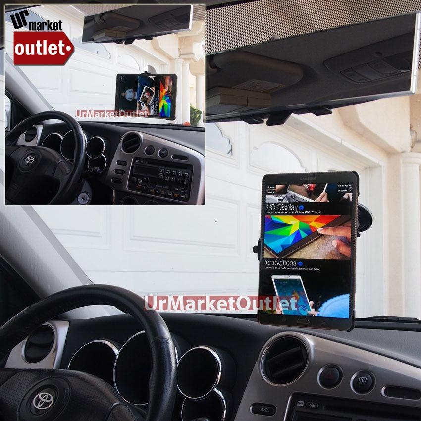 "Car Rotate Windscreen Windshield Mount Holder Fit Samsung Galaxy Tab S 8.4/"" T700"