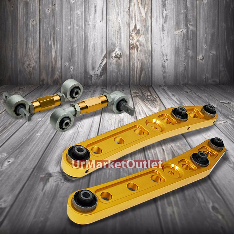 Gold Rear Lower Control Arms+Gold Camber Suspension Kit