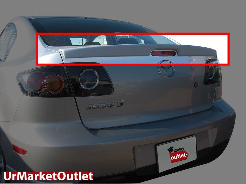 ABS Pre-Paint OE Style Rear Truck Spoiler Wing for Mit 04-06 Lancer Evolution