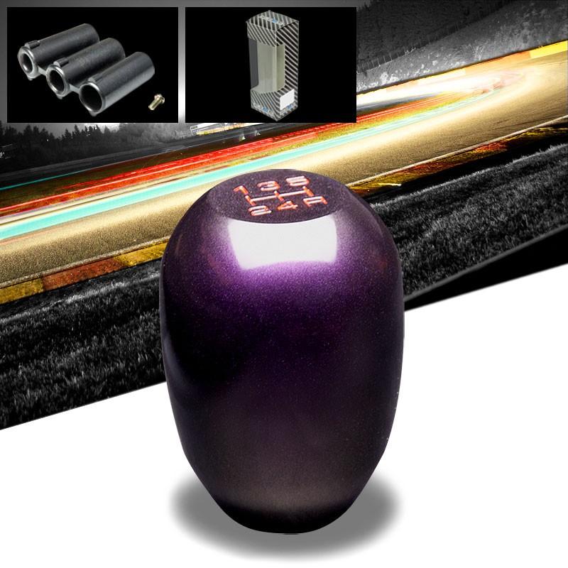 NRG Metallic Purple JDM 5-Speed Manual M8 M10 M12 SK-100GP Racing Shift Knob