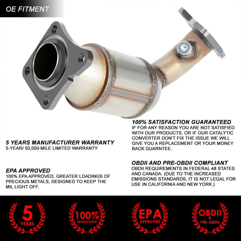 Details about Factory Style Catalytic Converter Exhaust Pipe For 03-07  Nissan Murano 3 5L V6