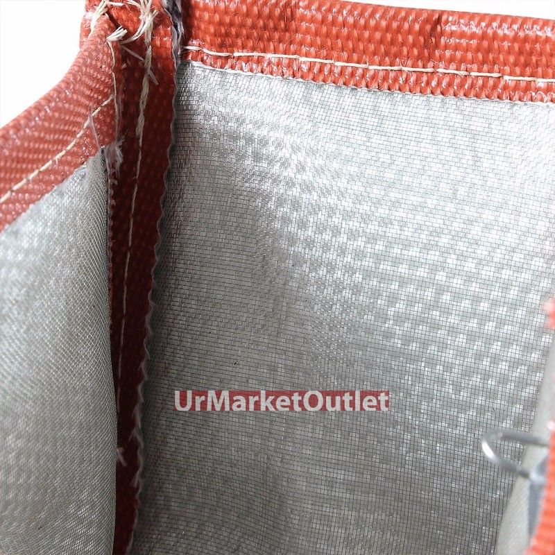 Red TY4 Turbo//Turbocharger Heat Shield Blanket Wrap For GT35//37-GT46//GT47//GT55