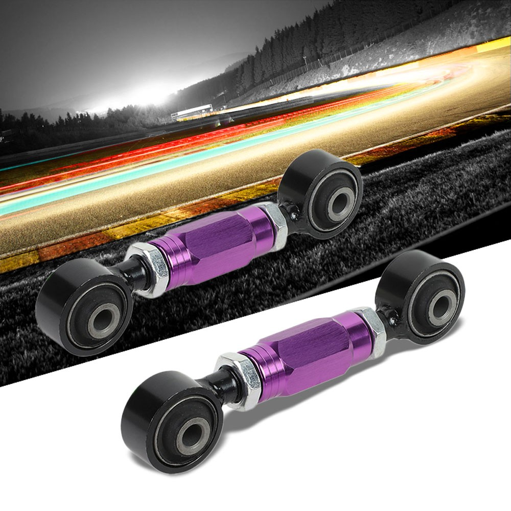 Purple Adjustable Rear Toe Camber Control ROD//ARM//Bar For 88-00 Civic EG//EK//EJ