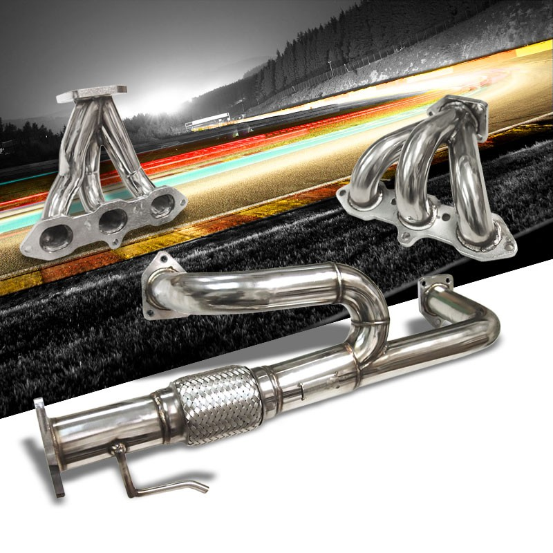 6 2 1 Racing Manifold Exhaust Header For Acura 99 03 CL TL