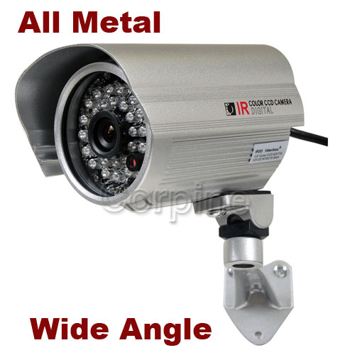 700TVL Security Dome Camera IR w SONY Effio CCD Audio Microphone Cable Power m6r