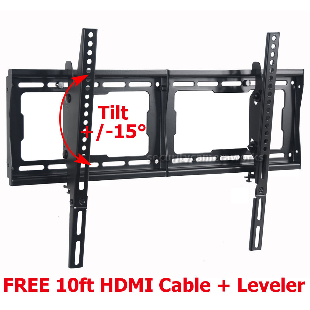 Details about Tilt TV Wall Mount for 32 40 42 50 55 60 65 70