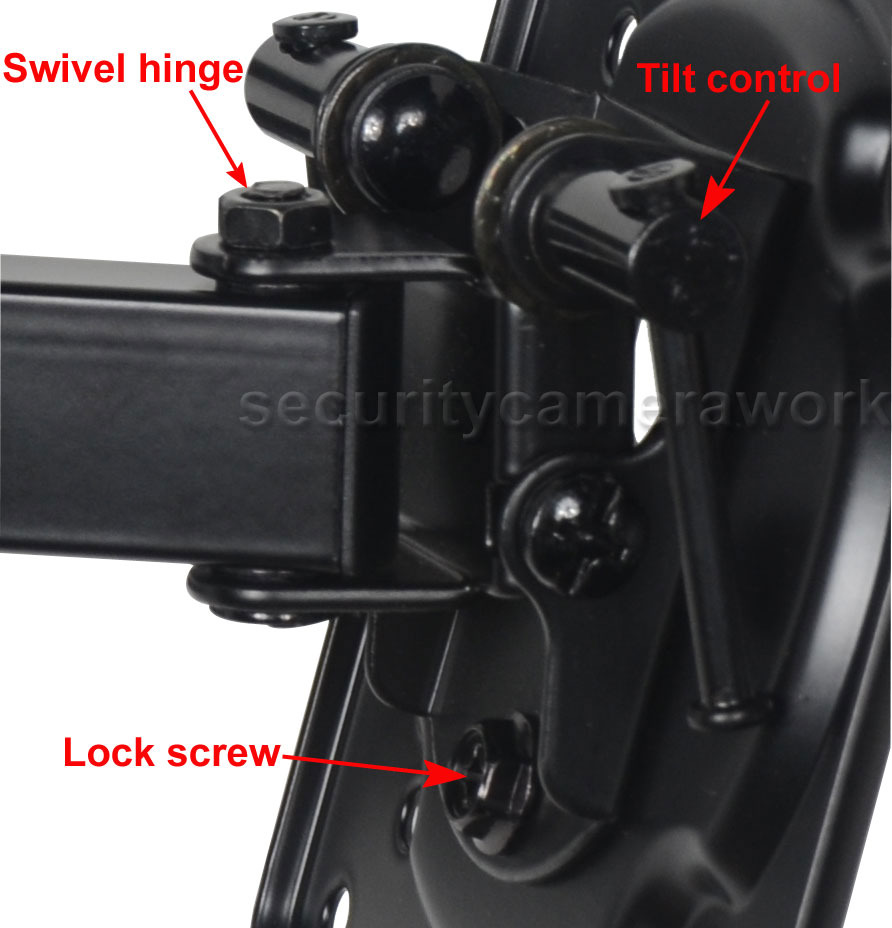 Articulating TV Monitor Wall Mount LED LCD for DELL E2213H E2414HR P2714H bn4