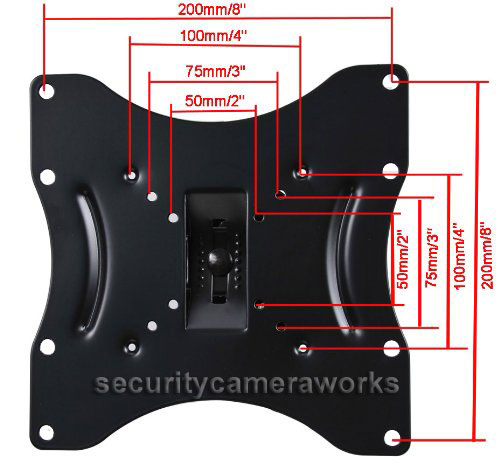 Tilt Swivel TV Wall Mount For LG Vizio 26 28 29 32 39 40