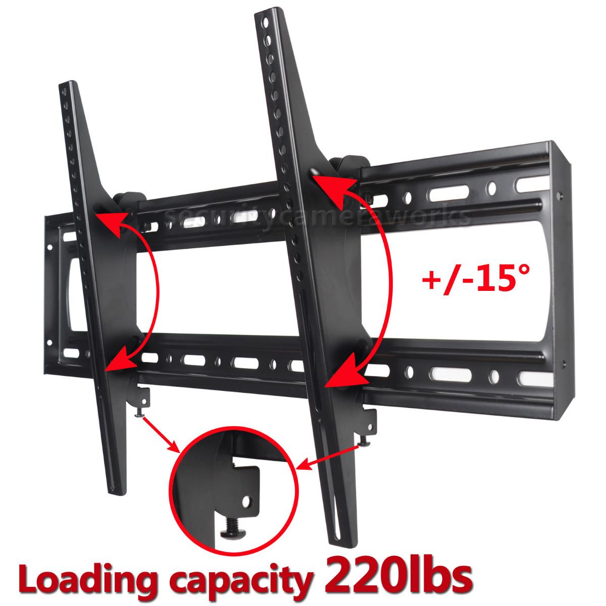4914e661affa Details about Tilt LCD LED Plasma TV Wall Mount for Samsung LG Sharp Seiki  Vizio RCA 60-85 C06
