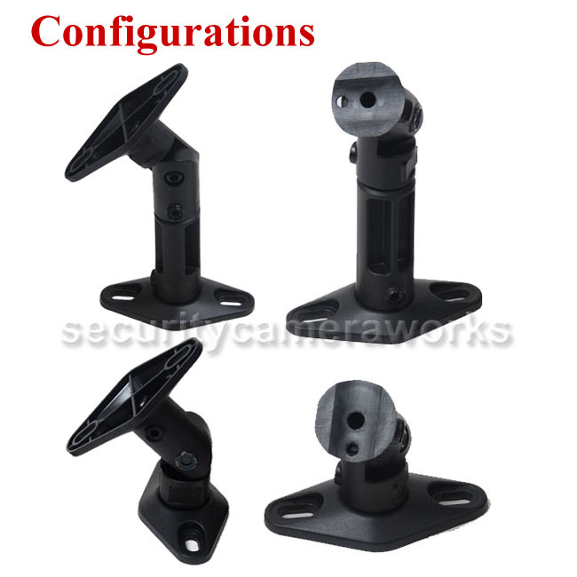 4 Universal Wall Ceiling Speaker Mount Home Theater