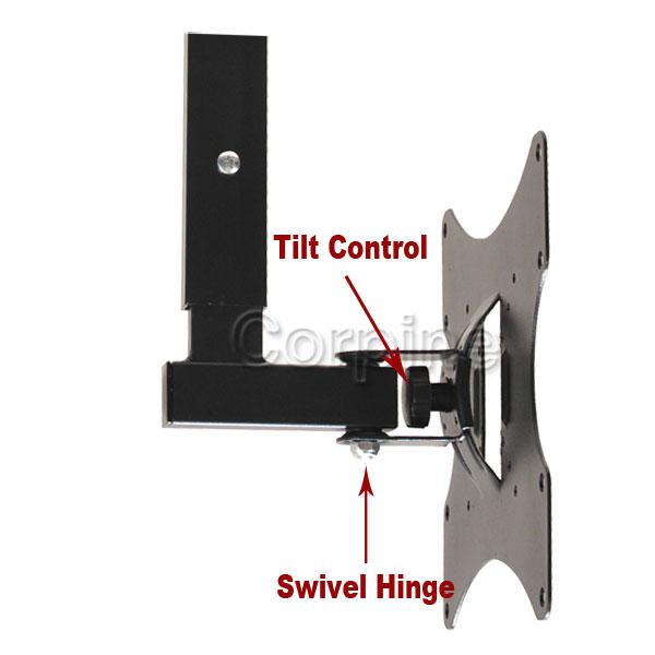"""Swivel Tilt LCD LED Plasma TV Ceiling Mount 22 23 24 26 27 32 37 39 40 42"""" M06"""