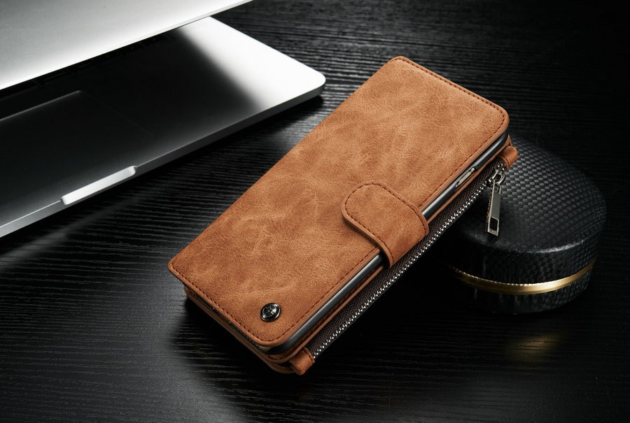 more photos dbd24 77edb Details about Leather Case Cover Zipper Wallet Card Multifunction For  Samsung note5 S10e S9+