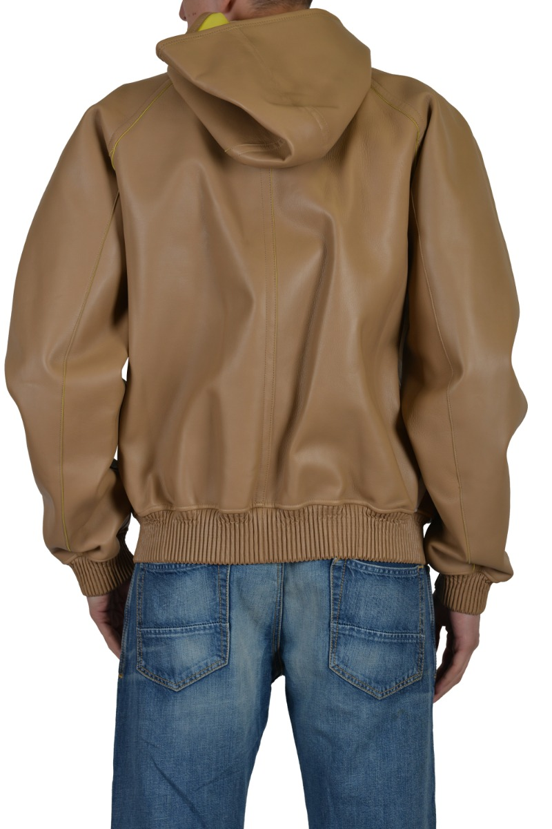 Light brown leather jackets