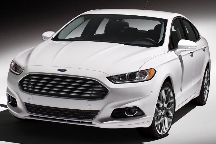 New Chrome Trim Rear Fog Light Cover For Ford Fusion