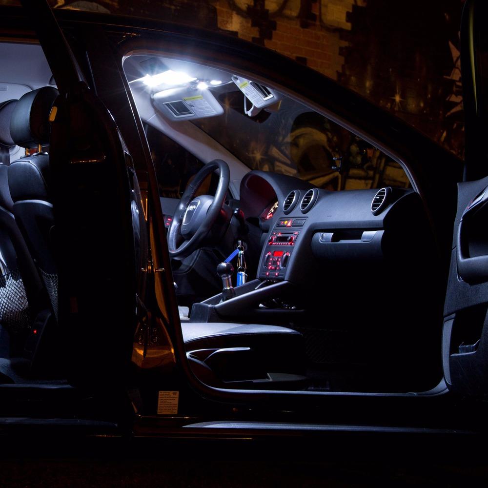 10 X Canbus White Led Interior Bulb Light Package Kit For Audi A3 8p 2006 2012 Ebay