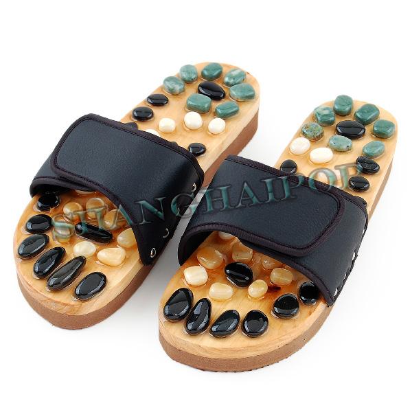 Foot Massage Slipper Stone Walk Acupoint Sandal Cobblestone Healthy