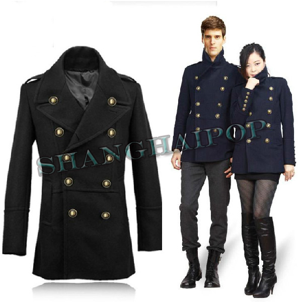 breasted double breasted breasted coat military military military double double coat KJ3TclF1