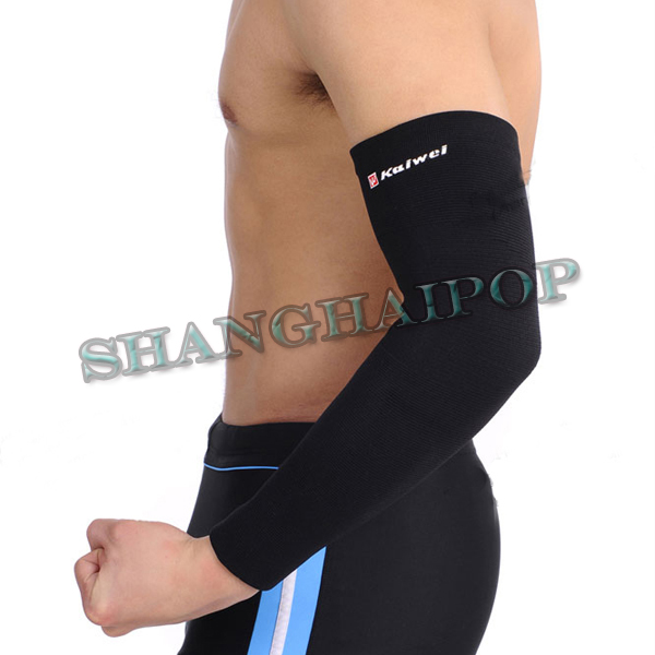 Begie Black Arm Sleeve Support Pad Brace Elbow Wrap ...
