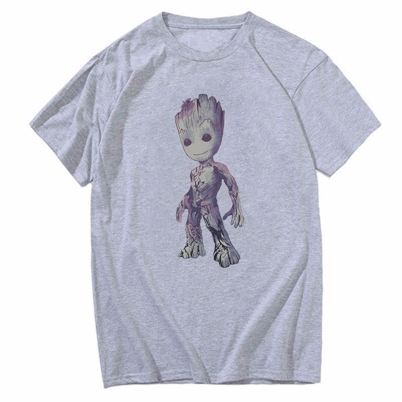 I Groot Baby Printed Men/'s Funny T-shirts Tops Cotton Short Sleeve Summer tee