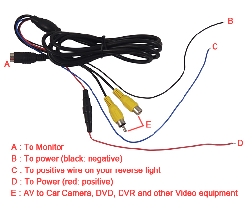 Backup Camera Wiring Diagram On Backup Camera Wiring Diagram Infinity
