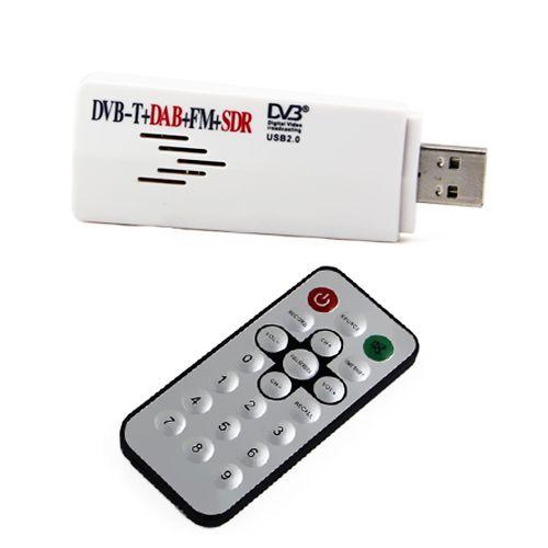dvb t usb mini digital tv sdr fm dab radio tuner receiver. Black Bedroom Furniture Sets. Home Design Ideas