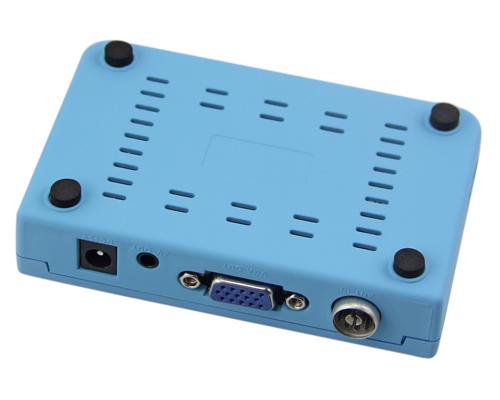 Digital TV Box LCD VGA AV Output Tuner DVB T View Receiver
