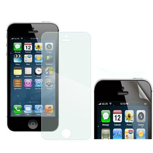 3X Anti Glare Clear LCD Screen Protector Guard for Apple iPhone 5 New