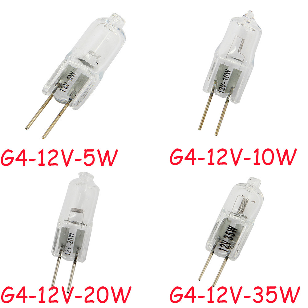 mini 1 g4 12v 5w 10w 20w 35w tungsten halogen bulb lamp bright light jc type ebay. Black Bedroom Furniture Sets. Home Design Ideas