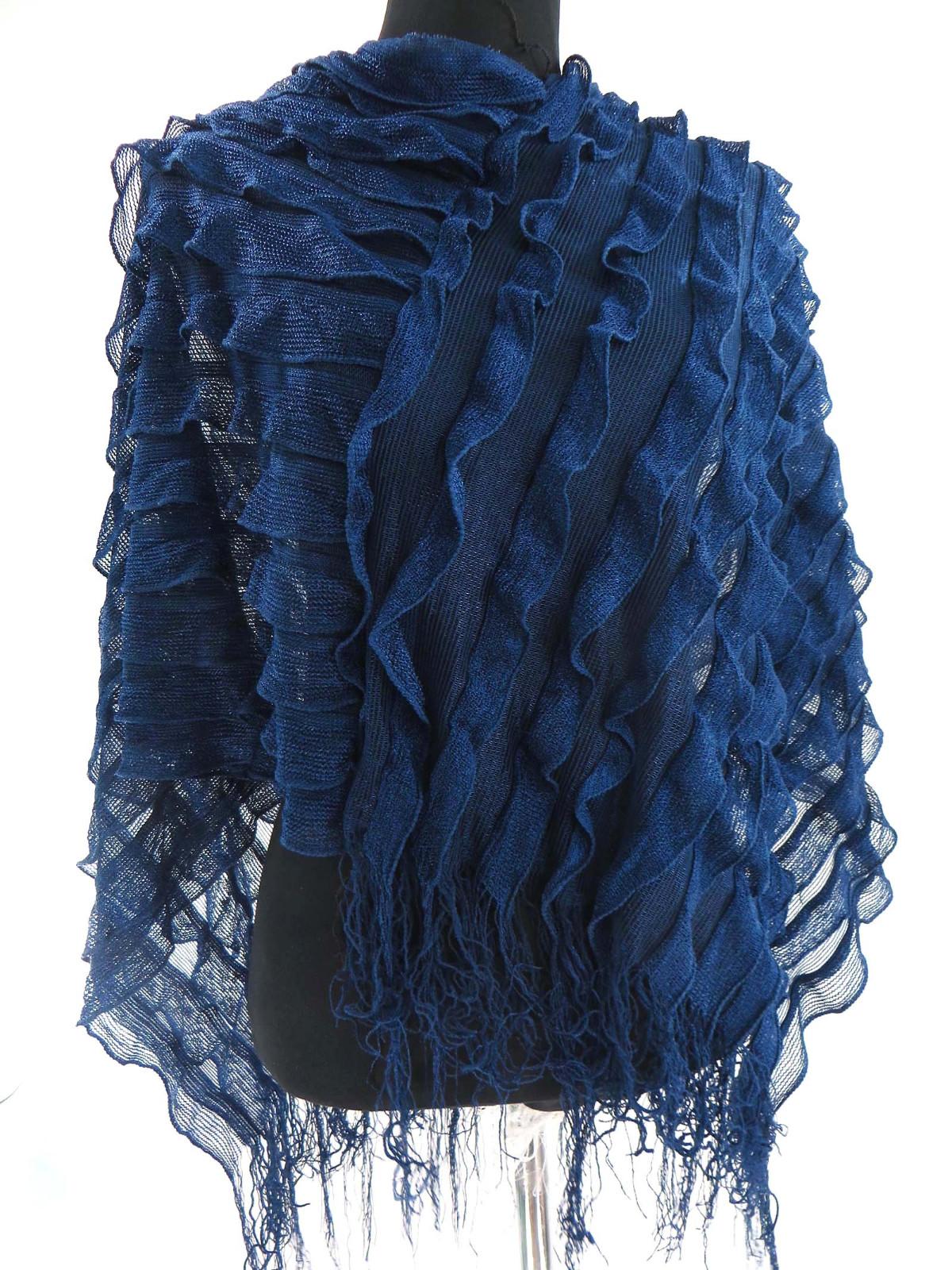 US SELLER-6pcs ruffled lady batwing poncho kaftan jumpers bulk scarf